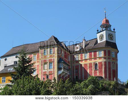 Jansky Hill (Jansky Vrch) Castle in Javornik Town Olomouc Region Czech Republic