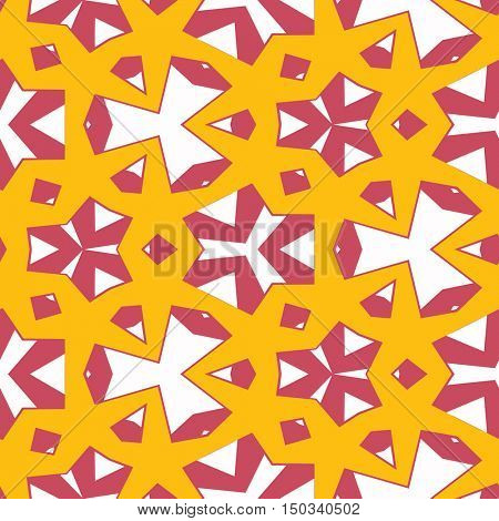 Abstract seamless color  pattern - digital artwork