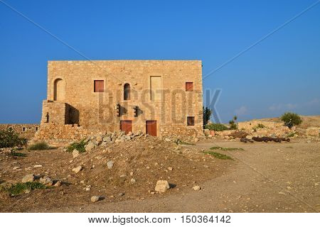 Rethymno city Greece Fortezza fortress armory landmark architecture