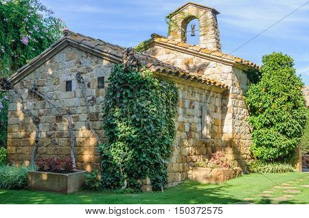 Tiny Church In Pals, Spain