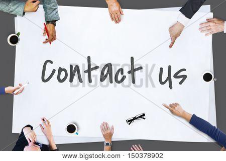 Contact Us Service Service Concept