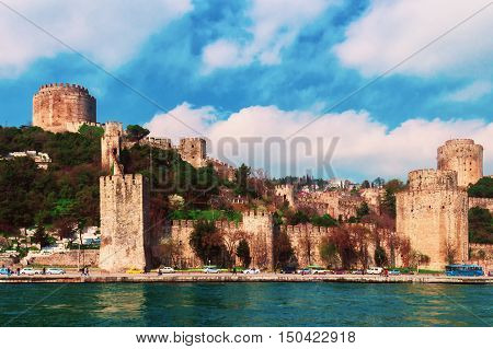 The Bosphorus is the heart of the Turkish city of Istanbul ancient Constantinople