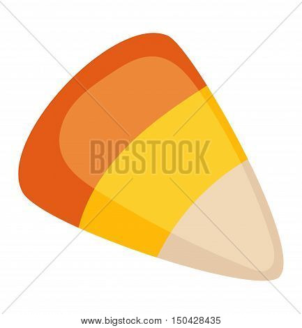 Candy sweet food vector illustration. Colorful candy isolated on white vector illustration. Falt sugar candy. Sweet candy dessert