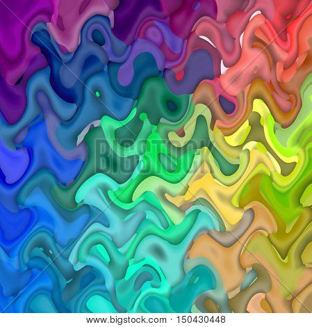 Abstract coloring background of the spectrums gradient with visual lighting,mosaic and  wave effects.Good for your project design