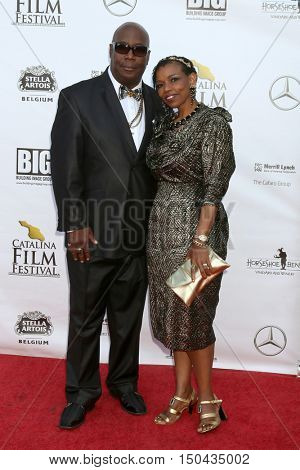 LOS ANGELES - OCT 1:  Dirk A. Davis, Roslyn Davis at the Catalina Film Festival - Saturday at the Casino on October 1, 2016 in Avalon, Catalina Island, CA