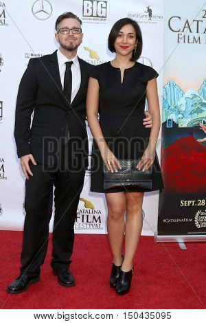 LOS ANGELES - OCT 1:  Andrew Jeric, guest at the Catalina Film Festival - Saturday at the Casino on October 1, 2016 in Avalon, Catalina Island, CA