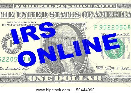 Irs Online Concept