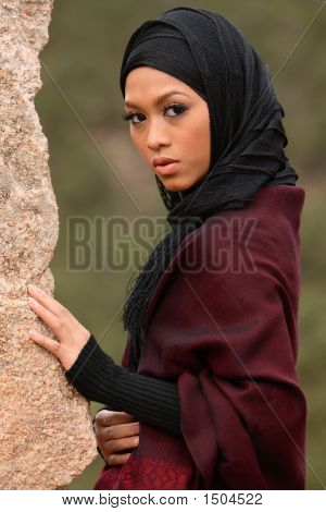 Мусульманская девочка