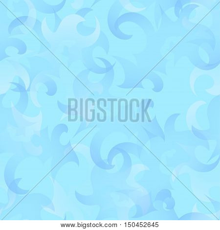 snow icy frosty seamless pattern background eps10