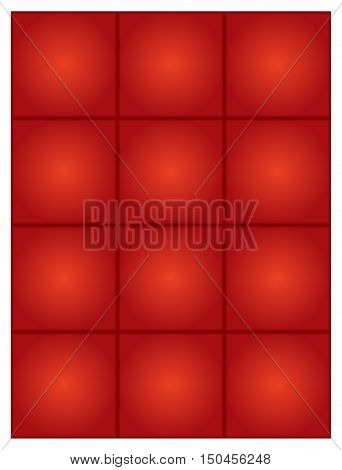 Abstract vector red  background with blend effect