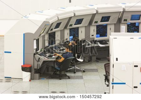 Air Traffic Services Authority Control Room