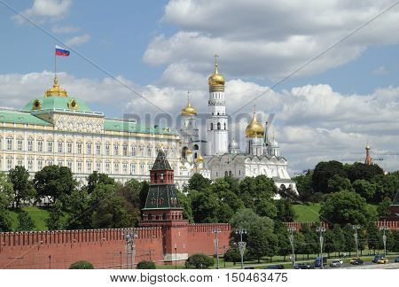 Moscow Kremlin, residence of the russian president