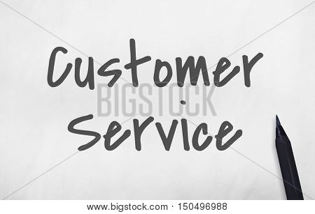 Customer Service Contact Us Concept