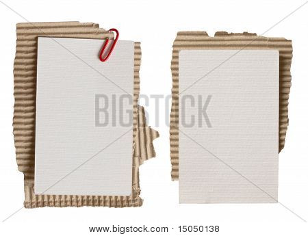 two paper notes