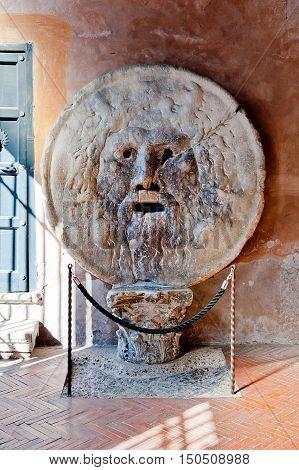 Mouth of Truth - Bocca della Verita Rome Italy