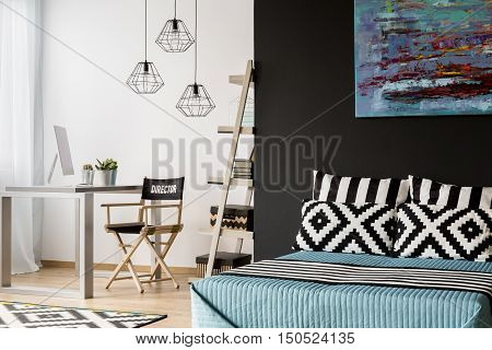 Spacious Bedroom Design Idea