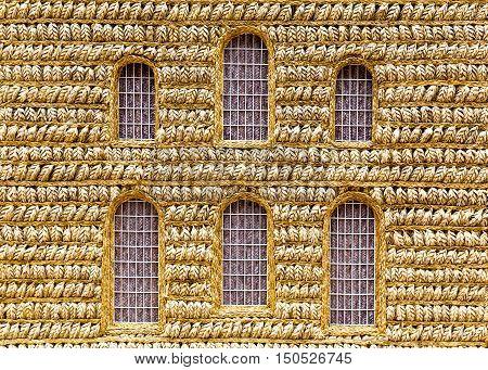Wheat Model Church Art