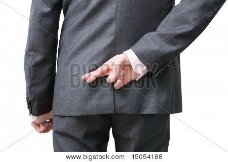 A dishonest business man