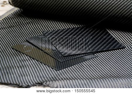 Carbon fiber composite raw material for background