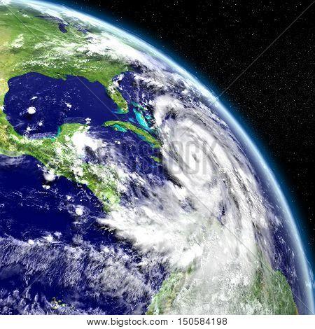 Huge Hurricane Matthew