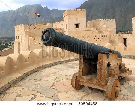 Al Hazm Fort In Oman