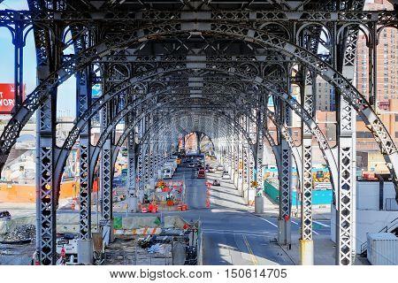 Upper West Side Train Tracks - Nyc