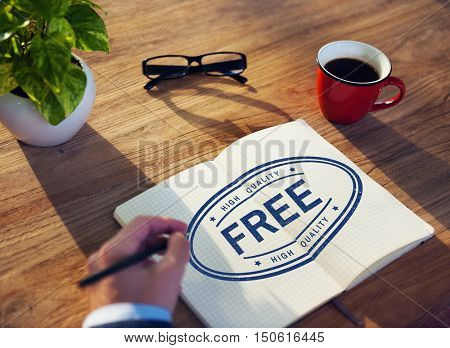 Free Gift High Quality Brand Product Concept