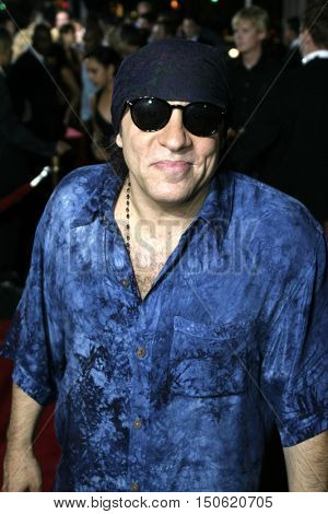 Steven Van Zandt at the Los Angeles premiere of 'Exorcist: The Beginning' held at the Grauman's Chinese Theatre in Hollywood, USA on August 18, 2004.