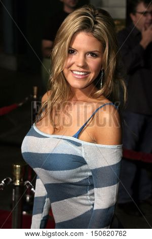 Jana Speaker at the Los Angeles premiere of 'Exorcist: The Beginning' held at the Grauman's Chinese Theatre in Hollywood, USA on August 18, 2004.