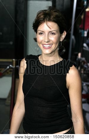 Michelle Clunie at the Los Angeles premiere of 'Exorcist: The Beginning' held at the Grauman's Chinese Theatre in Hollywood, USA on August 18, 2004.