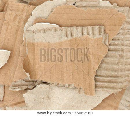 High res cardboard elements