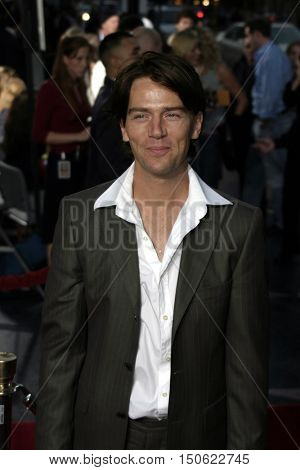 Anthony Kamerling at the Los Angeles premiere of 'Exorcist: The Beginning' held at the Grauman's Chinese Theatre in Hollywood, USA on August 18, 2004.