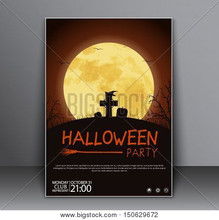 Design A Poster (flyers, Cover) For Halloween