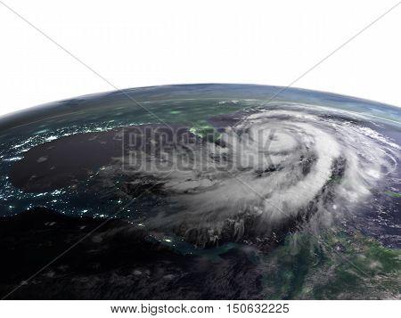 Hurricane Night View