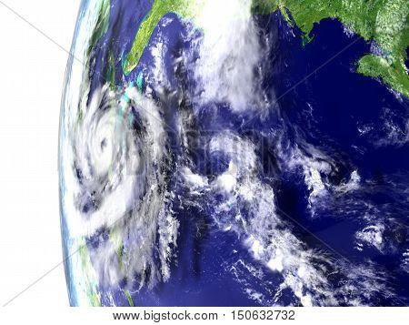 Hurricane Near Florida