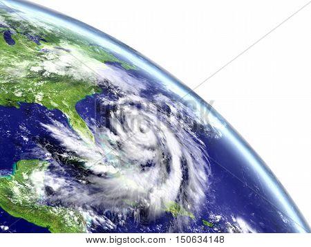 Hurricane Matthew In Caribbean