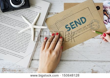 Send Express Delivery Concept