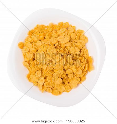 Corn Flakes In A Plate