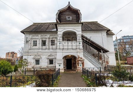 House of merchant Olisova built in the XVII century, landmark