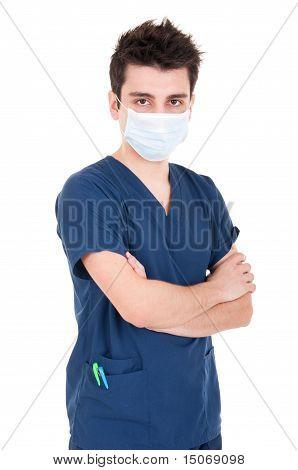 Doctor Wearing Mask
