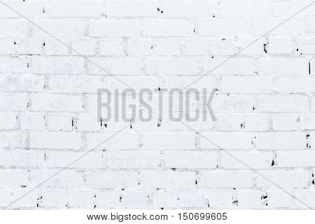 Old White brick wall, Texture, Backgrounds, vintage