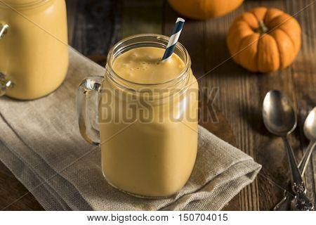 Healhty Organic Pumpkin Smoothie