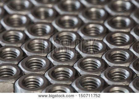 metal hex nuts photo, stainless steel hex nut