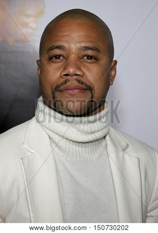 Cuba Gooding Jr. at the Los Angeles premiere of 'The Pursuit of Happyness' held at the Mann Village Theater in Westwood, USA on December 7, 2006.
