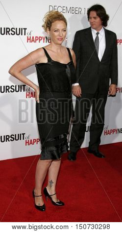 Virginia Madsen at the Los Angeles premiere of 'The Pursuit of Happyness' held at the Mann Village Theater in Westwood, USA on December 7, 2006.