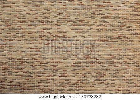 Brick exterior wall in Traverse City, Michigan
