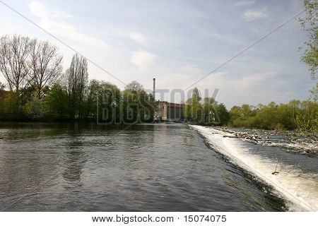 River Fulda near Kassel, Germany
