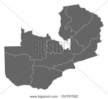 Map - Zambia