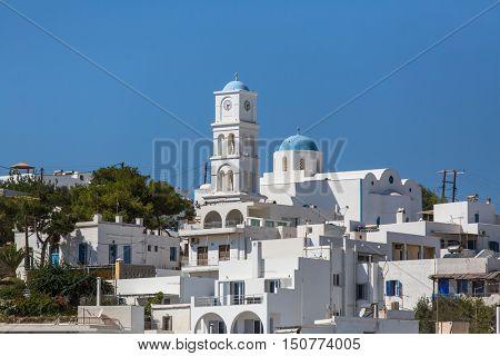 Architecture of Milos island, Greece.