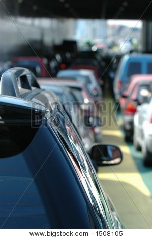 Waiting Cars